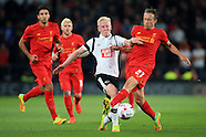 Football - EFL Cup (3rd Round) - Derby County v Liverpool