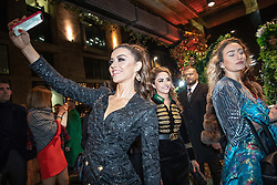 © Licensed to London News Pictures . 23/11/2018. Manchester , UK . People arrive at an opening event of The Ivy restaurant and bar venue in Spinningfields in Manchester City Centre . Photo credit : Joel Goodman/LNP