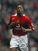 Photo: Paul Thomas.<br />Manchester United v Liverpool. The Barclays Premiership. 22/01/2006.<br /><br />Man Utd's Patrice Erva