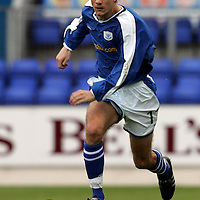 St Johnstone v Airdrie..23.10.04<br />Lee Hardy<br /><br />Picture by Graeme Hart.<br />Copyright Perthshire Picture Agency<br />Tel: 01738 623350  Mobile: 07990 594431