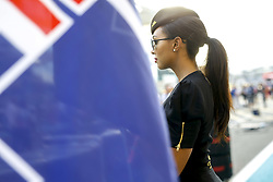 November 26, 2017 - Abu Dhabi, United Arab Emirates - Motorsports: FIA Formula One World Championship 2017, Grand Prix of Abu Dhabi, .grid girl  (Credit Image: © Hoch Zwei via ZUMA Wire)