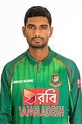 Mahmudullah Riyad, Bangladesh cricket team headshots ahead of their New Zealand tour. Cobham Oval, Whangarei. 21 December 2016. Copyright Image: Heath Johnson / www.photosport.nz