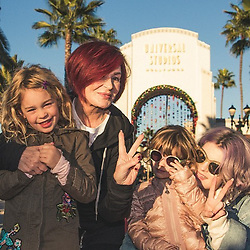"Kelly Osbourne releases a photo on Instagram with the following caption: ""I had the most wonderful day at Universal with my family, The Wizarding World of Harry Potter was spectacular and the snowfall absolutely beautiful. @unistudios #UniversalStudiosHollywood"". Photo Credit: Instagram *** No USA Distribution *** For Editorial Use Only *** Not to be Published in Books or Photo Books ***  Please note: Fees charged by the agency are for the agency's services only, and do not, nor are they intended to, convey to the user any ownership of Copyright or License in the material. The agency does not claim any ownership including but not limited to Copyright or License in the attached material. By publishing this material you expressly agree to indemnify and to hold the agency and its directors, shareholders and employees harmless from any loss, claims, damages, demands, expenses (including legal fees), or any causes of action or allegation against the agency arising out of or connected in any way with publication of the material."