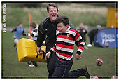 Sale Sharks Premier rugby camp at Trafford MV. 06-04-2006.