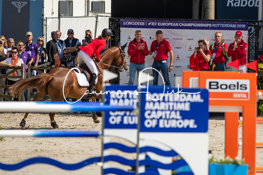 Blum Simone, GER, DSP Alice<br /> European Championship Jumping<br /> Rotterdam 2019<br /> © Hippo Foto - Dirk Caremans<br /> Blum Simone, GER, DSP Alice