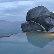 A private villa pool at the Evason Hideaway in Nha Trang, Vietnam.