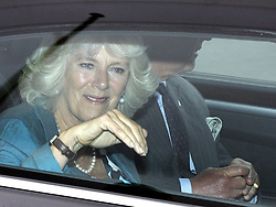 © Licensed to London News Pictures. 17/08/2011 Croydon,Surrey, UK. The Prince of Wales and Duchess of Cornwall visit Croydon Fire Station today (17/08/2011) to see for themselves the impact of the recent rioting. Photo credit: Grant Falvey/LNP