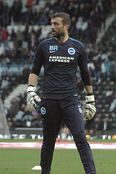 Ben Roberts Goalkeeping Coach Brighton & Hove Albion, Derby County v Brighton &Hove Albion, IPro Stadium, Sky Bet Championship,  Saturday 12th December 2015