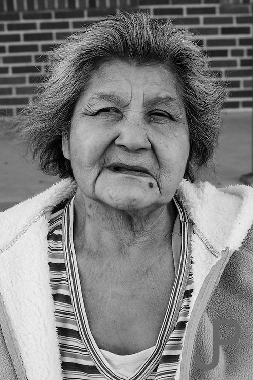 Portrait of dialysis patient from Pauls Valley