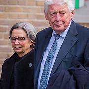 NLD/Rotterdam/20180220 - Herdenkingsdienst Ruud Lubbers, Wim Kok en partner rita Roukema