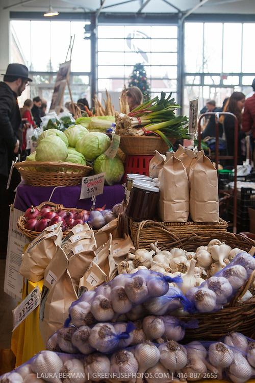 At Wychwood Barns farmers market in January