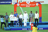 Nicolas Ladislao Fedor of Bengaluru FC recevied hero of the tournament  award during the final of the Hero Super Cup between East Bengal FC and Bengaluru FC held at the Kalinga Stadium, Bhubaneswar, India on the 20th April 2018<br /> <br /> Photo by: Arjun Singh / SPORTZPICS