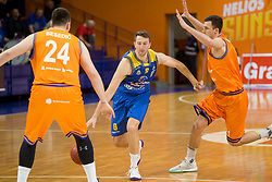 Ramo Rizvic of KK Sencur during basketball match between KK Helios Suns and KK Sencur in Playoffs of Liga Nova KBM 2017/18, on April 7, 2018 in Domzale, Slovenia. Photo by Urban Urbanc / Sportida
