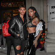 Prisciliavanb , Jeff Roberto attend Fashion Scout - SS19 - London Fashion Week - Day 2, London, UK. 15 September 2018.
