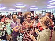 Arts Access Initiative meet and greet with both this year's and next year's schools at Alley Theatre recently.