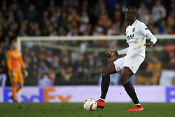 March 7, 2019 - Valencia, Valencia, Spain - Mouctar Diakhaby of Valencia does passed during the UEFA Europa League Round of 16 First Leg match between Valencia v Krasnodar  at Estadi de Mestalla on March 7, 2019 in Valencia, Spain. (Credit Image: © Jose Breton/NurPhoto via ZUMA Press)