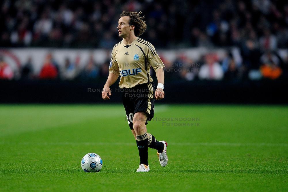 18-03-2009 VOETBAL: UEFA CUP: AJAX - OLYMPIQUE MARSEILLE: AMSTERDAM<br /> Ajax speelt gelijk, 2-2 in de verlenging, en is uitgeschakeld in Europa / Boudewijn Zenden<br /> &copy;2009-WWW.FOTOHOOGENDOORN.NL
