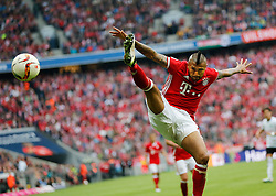14.05.2016, Allianz Arena, Muenchen, GER, 1. FBL, FC Bayern Muenchen vs Hannover 96, 34. Runde, im Bild Arturo Vidal in Aktion // during the German Bundesliga 34th round match between FC Bayern Munich and Hannover 96 at the Allianz Arena in Muenchen, Germany on 2016/05/14. EXPA Pictures © 2016, PhotoCredit: EXPA/ SM<br /> <br /> *****ATTENTION - OUT of GER*****
