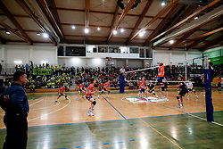 Coach of ACH Igor Kolakovic during volleyball match between ACH Volley Bled and UKO Kropa at final of Slovenian National Championships 2011, on April 27, 2011 in Arena SGTS Radovljica, Slovenia. ACH Volley defeated Kropa 3-0 and became Slovenian National Champion 2011. (Photo By Vid Ponikvar / Sportida.com)