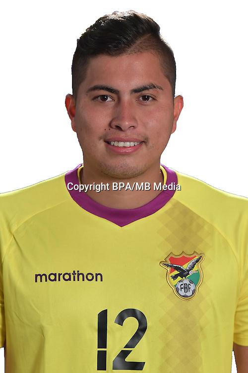 Football Conmebol_Concacaf - <br />Copa America Centenario Usa 2016 - <br />Bolivia National Team - Group D - <br />Romel Javier Quinones Suarez