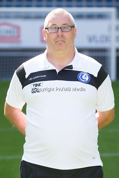 Gent's Gilbert De lange pictured during the 2015-2016 season photo shoot of Belgian first league soccer team KAA Gent, Saturday 11 July 2015 in Gent.