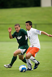 Virginia Cavaliers MF Jonathan Villanueva (10)..The Virginia Cavaliers faced the South Florida Bulls in an exhibition game at Klockner Stadium in Charlottesville, VA on August 26, 2007