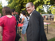 MARK THOMPSON DIRECTION GENERAL BBC, Serpentine Pavilion private view. Kensington Gardens. London. 12 September 2010. -DO NOT ARCHIVE-© Copyright Photograph by Dafydd Jones. 248 Clapham Rd. London SW9 0PZ. Tel 0207 820 0771. www.dafjones.com.