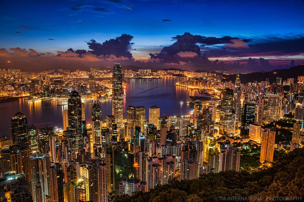 Hong Kong @ Twilight