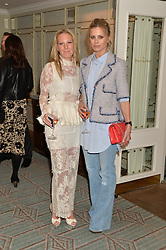 Left to right, ALICE NAYLOR-LEYLAND and LAURA BAILEY at the launch of Mrs Alice in Her Palace - a fashion retail website, held at Fortnum & Mason, Piccadilly, London on 27th March 2014.