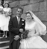 1956 - Wedding Lacey-Symes at St. Anthony's Church,  Clontarf and the Clarence Hotel