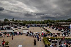 Moller Kristine, LUX, Standing O Vantion<br /> Longines FEI/WBFSH World Breeding Dressage Championships for Young Horses - Ermelo 2017<br /> © Hippo Foto - Dirk Caremans<br /> 05/08/2017