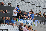 CAPE TOWN, South Africa - Monday 21 January 2013, supporters during the soccer/football match Grasshopper Club Zurich (Switzerland) and Jomo Cosmos at the Cape Town stadium..Photo by Roger Sedres/ImageSA