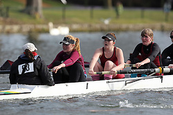 2012.02.25 Reading University Head 2012. The River Thames. Division 1. Vesta Rowing Club W.IM2 8+