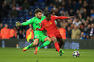 West Bromwich Albion v Liverpool - 16 April 2017