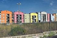 Roma 20 Settembre 2014<br /> Edifici di  edilizia popolare al quartiere Ponte Di Nona  <br /> Rome September 20, 2014 <br /> Buildings  of social housing the district Ponte Di Nona