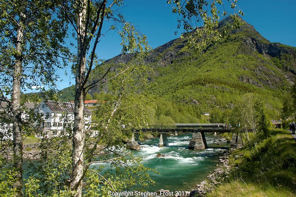 Norway River Scene