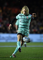 Rugby Union - 2019 / 2020 Gallagher Premiership - Harlequins vs. Gloucester<br /> <br /> Gloucester's Billy Twelvetrees misses a late penalty that would have given them the lead, at The Stoop.<br /> <br /> COLORSPORT/ASHLEY WESTERN
