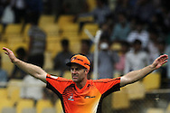 Perth Scorchers captain Simon Katich during match 4 of the Karbonn Smart Champions League T20 (CLT20) 2013  between The Highveld Lions and the Perth Scorchers held at the Sardar Patel Stadium, Ahmedabad on the 23rd September 2013<br /> <br /> Photo by Vipin Pawar-CLT20-SPORTZPICS  <br /> <br /> Use of this image is subject to the terms and conditions as outlined by the CLT20. These terms can be found by following this link:<br /> <br /> http://sportzpics.photoshelter.com/image/I0000NmDchxxGVv4