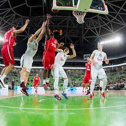 20140108: SLO, Basketball - EuroCup, KK Union Olimpija Ljubljana vs Hapoel Migdal Jerusalem B.C.