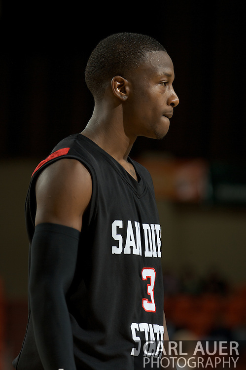 November 27, 2008: San Diego State's Richie Williams (3) in the final game in the opening round of the 2008 Great Alaska Shootout at the Sullivan Arena