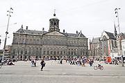 Nederland, Amsterdam, 16-5-2017Het Koninklijk Paleis op de Dam van architect Jacob van CampenFoto: Flip Franssen