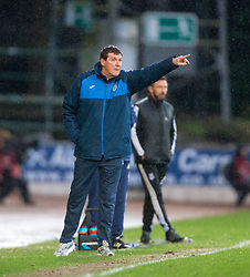 St Johnstone manager Tommy Wright. <br /> St Johnstone 3 v 4Aberdeen, SPFL Ladbrokes Premiership played 6/2/2016 at McDiarmid Park, Perth.