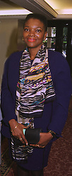 BARONESS AMOS at a luncheon in London on 12th October 1998.  <br /> MKR 68 WORO
