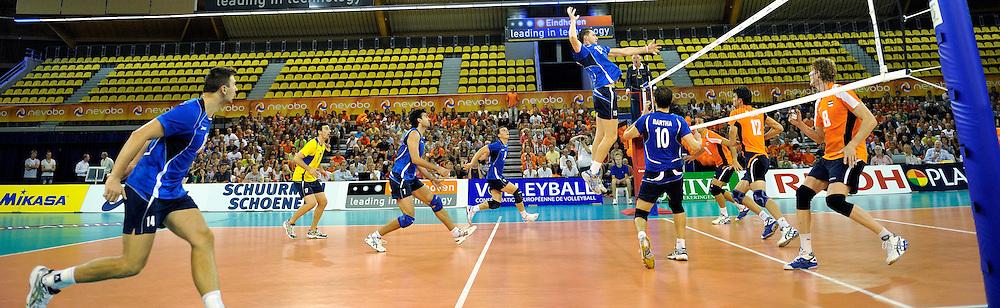 03-09-2011 VOLLEYBAL: PRE OKT NEDERLAND - ROEMENIE: EINDHOVEN<br /> Indoor sportcentrum Eindhoven, hal, zaal, item stadion<br /> &copy;2011-FotoHoogendoorn.nl
