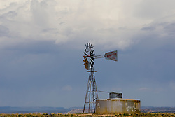 A windmill near Canyons of the Ancients National Monument, Colorado.