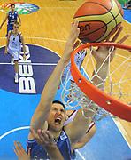 DESCRIZIONE : Siauliai Lithuania Lituania Eurobasket Men 2011 Preliminary Round Lettonia Serbia<br /> GIOCATORE : Kosta Perovic<br /> CATEGORIA : tiro<br /> SQUADRA : Lettonia Serbia<br /> EVENTO : Eurobasket Men 2011<br /> GARA : Lettonia Serbia<br /> DATA : 01/09/2011 <br /> SPORT : Pallacanestro <br /> AUTORE : Agenzia Ciamillo-Castoria/T.Wiedensohler<br /> Galleria : Eurobasket Men 2011 <br /> Fotonotizia : Siauliai Lithuania Lituania Eurobasket Men 2011 Preliminary Round Lettonia Serbia<br /> Predefinita :