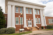 President Jimmy Carter National Historic site at the former Plains High School May 6, 2013 in Plains, Georgia.