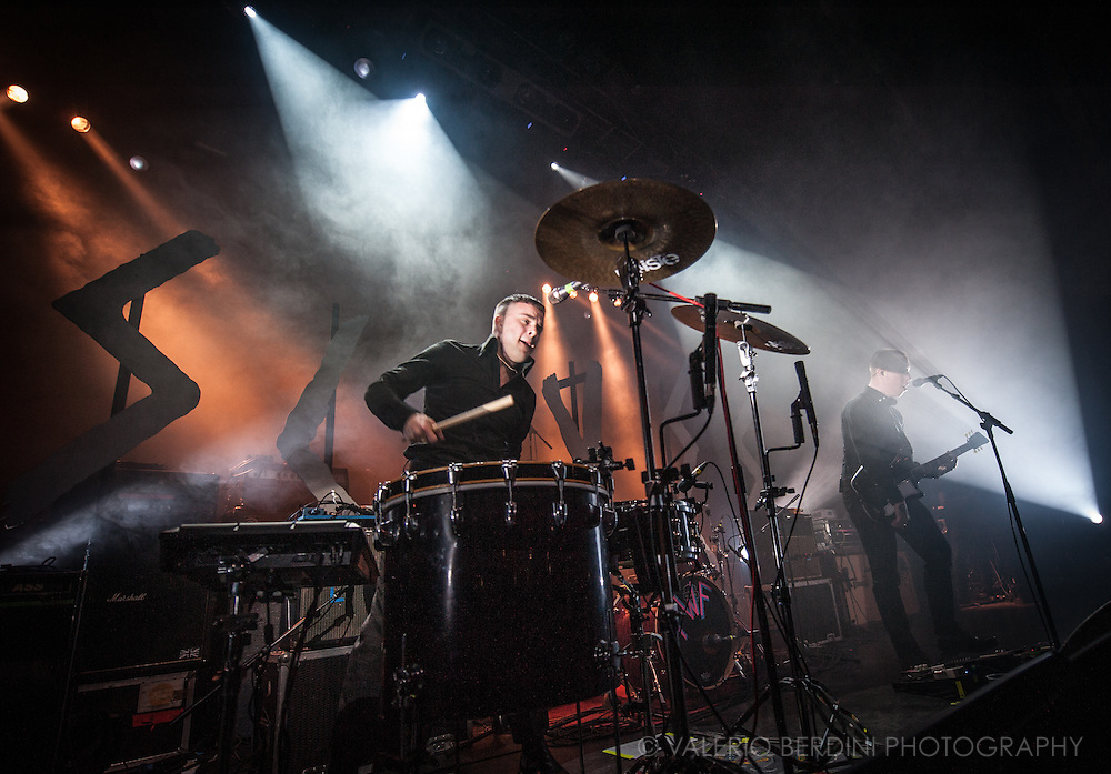 Slaves on stage for the NME Awards tour at the London Forum on 4 March 2015