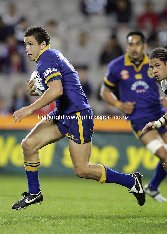 Glen Horton in action during the Air NZ Cup week 9 rugby match between Auckland and Otago at Eden Park, Auckland, New Zealand on Saturday 23 September, 2006. Auckland won the match 48-7. Photo: Hannah Johnston/PHOTOSPORT<br />