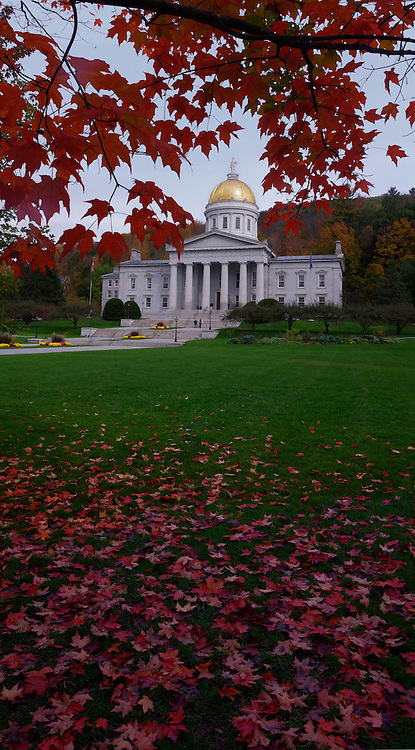 Vermont State House, Montpelier , Vermont, Fall, 2012